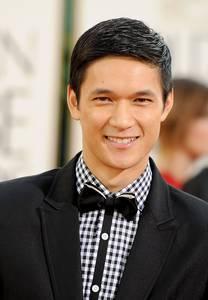 Harry Shum JR wearing a bowtie :)