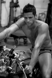 Daniel Ewing on a motorbike :)