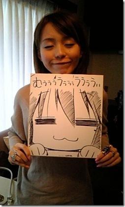 Aya Hirano, voiced Haruhi Suzumiya and partially Konata Izumi (Lucky Star)