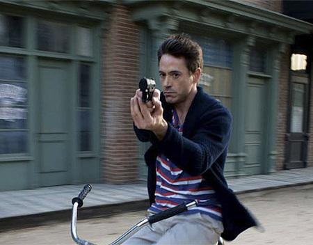 haha on a bike! XD