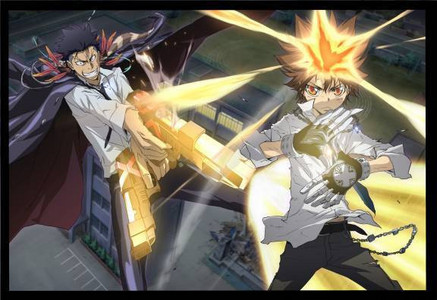 Tsuna used his Zero Point Breakthrough: Revised (零地点突破:改, Zero Chiten Toppa: Kai) from KHR!