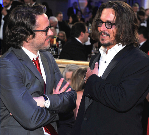 ... with Johnny Depp