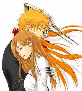 Orhime and ichigo