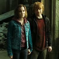 Ron and Hermoine.
