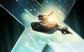 This is a small version. It's the X-men's Blackbird from 'X-men: First Class'.