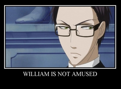 William from 黒執事 is a Shinigami and I felt like using this picture! :p