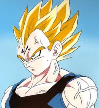 Prince Vegeta from Dragonball Z. I've had a crush on him since I was 8 and I still do. <3