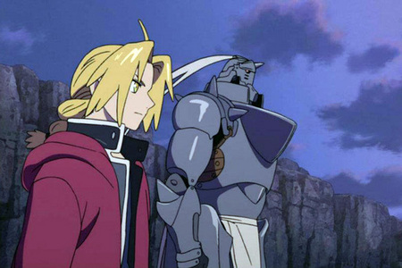 About a bulan ago, I watched Fullmetal Alchemist: The Sacred bintang of Milos. ^_^