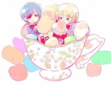 Ciel & Alois ~ #Adorable