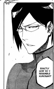 Uryū (from Bleach).