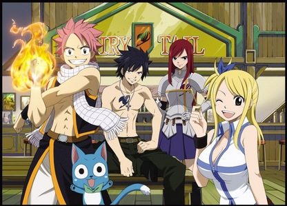 no geral, global and traditionally it's Ranma 1/2. But of the ones I've been watching recently, it's Fairy Tail. It's hard to compare an old favorito to a new favorite.