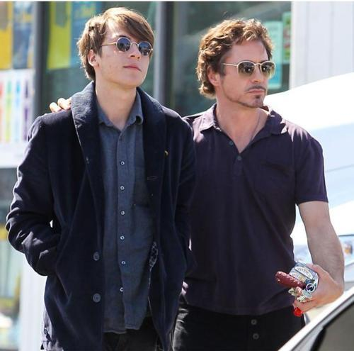 with his son Indio! ;P