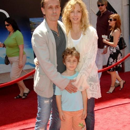 Rob Knepper with his ex-wife and beautiful son Ben