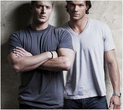 My two boys in gray! Jen and Jared! <3