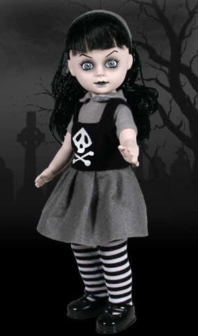Well, I keep changeing my mind, but I'm thinking of being either Elsa from Frankenweenie atau Mildread from Living Dead anak patung (See picture) since I kind of look like them