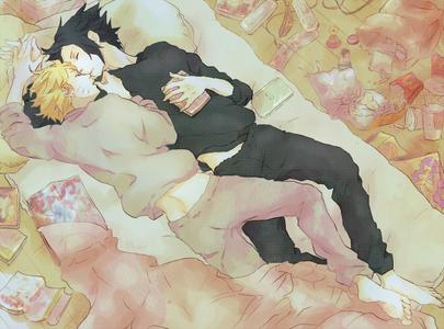 Sasuke and Naruto. :)