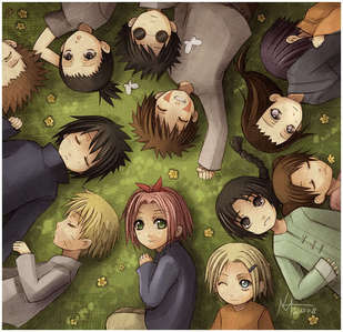 Well, some of them are sleeping... I know 당신 said only two, but this is too cute, so I thought I'd share it...