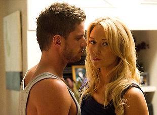 Daniel ewing as Heath giving Bianca the look XD