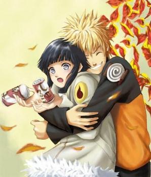 Anime Hug Naruto hugs Hinata