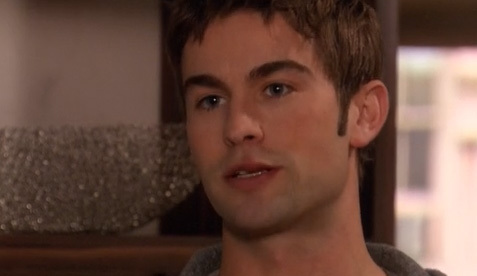 chace crawford - his lip was sore