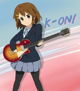 Yui from K-ON.