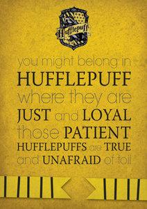 Hufflepuff. Shit yeah!