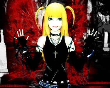 Misa Amane from death note!