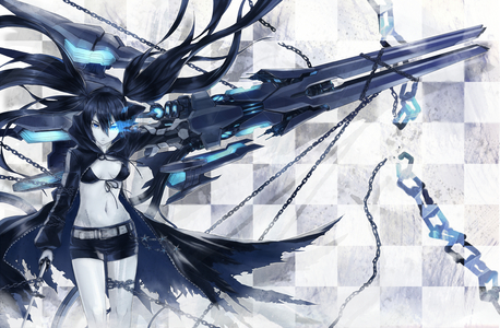 Black Rock Shooter :)