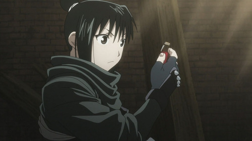 In FMA, Xing is like the equivalent of China. I choose Lan Fan! ^_^