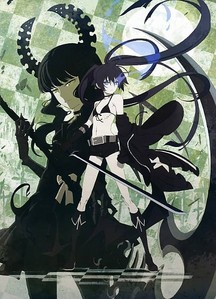 black rock shooter :3
