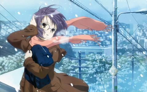 Yuki Nagato from TMoHS! X3