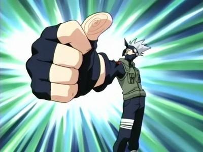 kakashi! (always loved his thumbs up ^^)