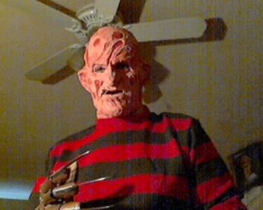 "I'm going to be Freddy Krueger. ""I'm your boyfriend now, Nancy."""