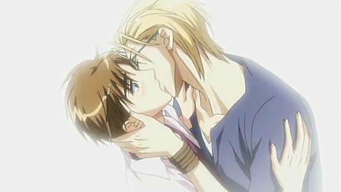 Post an OFFICIAL yaoi kiss. - Anime Answers - Fanpop
