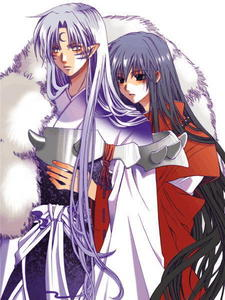 Well I Любовь freaking Любовь USUK, but my Последнее obession has been Sesshy and InuYasha :3