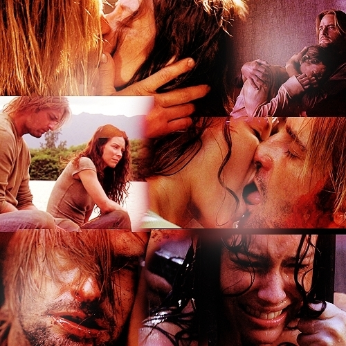 Not together. :( Sawyer & Kate <3