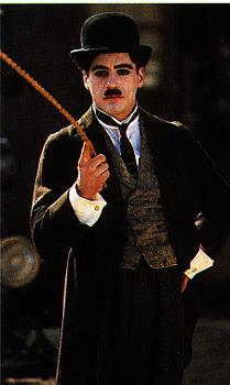 luv his Chaplin costume! :D