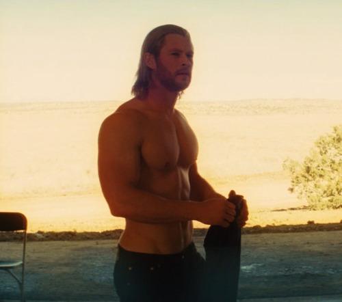 "Chris in ""Thor"" movie"