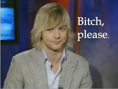 [i]And I'm 25 and in a serious relationship with Keith Harkin[/i]