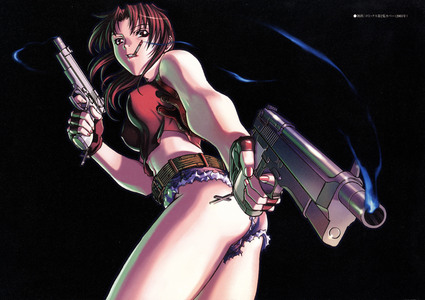 Revy from Black Lagoon! X3