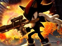 HA! there is NO WAY that Erza Scarlet can kick MY guys ass! he is the ULTIMATE culo kicker! ^^ my hero, Shadow the Hedgehog! the ULTIMATE life form!