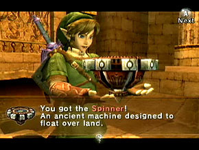 I really loved Arniter's Grounds in Twilight Princess. The enemies and bosses were all awesome and I loved the Spinner! That thing is awesome! And the room full of Spinner tracks? Amazing! I also liked how dark it was.