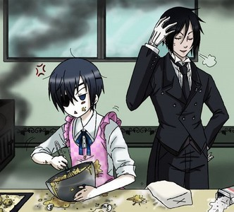 Mizumi Himeji from Baka to Test to Shoukanjuu and Ciel Phantomhive from Black Butler - Il maggiordomo diabolico are the worst cooks beknownst to mankind.