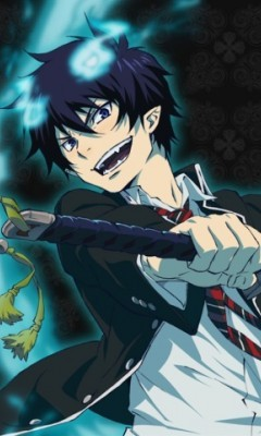 Rin from ao no exorcist is a really good cook