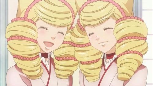 I'll just copy my response to the forum. Bonbori and Hozuki from Otome Yokai Zakuro are the best twins, ne? ^^