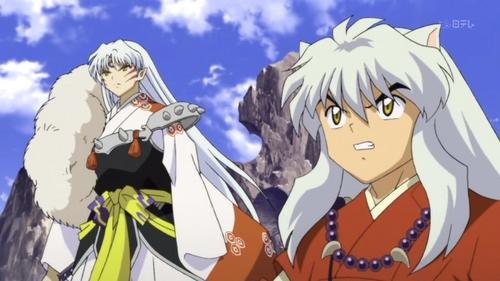 inuyasha and Sesshomaru!! :D