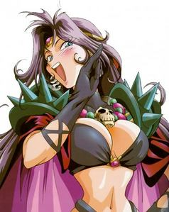 That would be Naga the Serpent from Slayers.