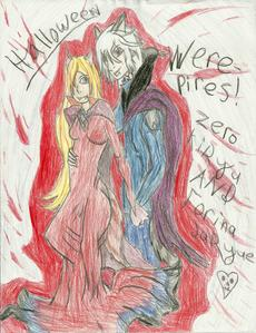 YUSH, ZERINA 4EVA!!!! i'm counting my sketch in this... and, b4 u say anything, i did them in a dif. Anime style then Vampire Knight...