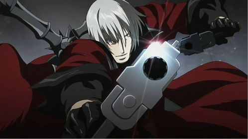 Dante from the Devil May Cry anime