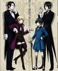 Black Butler Elfen Lied Angel Beats! Death Note